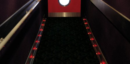 LED Aisle & Floor Lighting
